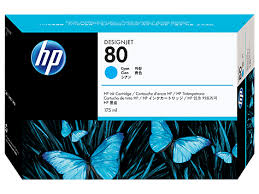 HP DesignJet 1000 Series Inkjet Cartridge - Cyan 175 ml.