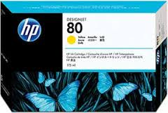 HP DesignJet 1000 Series Inkjet Cartridge - Yellow 175 ml.