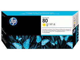 HP DesignJet 1000 Series Inkjet Printhead - Yellow