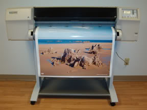 "HP DesignJet 2500CP 36"" Inkjet Printer - Includes 1 Year Warranty!"
