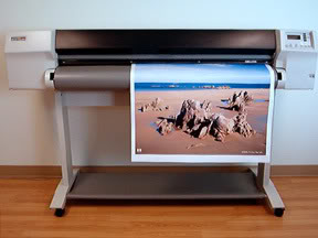 "HP DesignJet 3500CP 54"" Inkjet Printer - Includes 1 Year Warranty!"