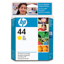 HP DesignJet 400 Series Inkjet Cartridge - Yellow