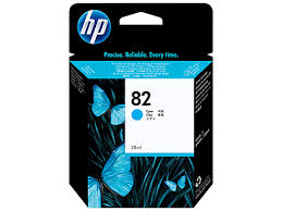 HP DesignJet 500 800 Series Inkjet Cartridge - Cyan