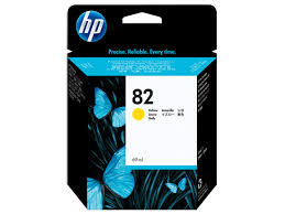 HP DesignJet 500 800 Series Inkjet Cartridge - Yellow
