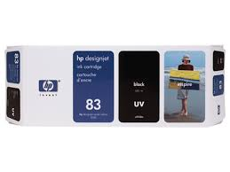 HP DesignJet 5000 Series Inkjet Cartridge - Black UV