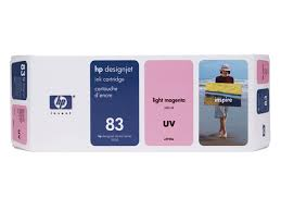 HP DesignJet 5000 Series Inkjet Cartridge - Lt Magenta UV