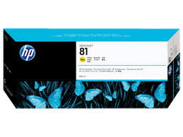 HP DesignJet 5000 Series Inkjet Cartridge - Yellow Dye