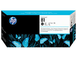 HP DesignJet 5000 Series Inkjet Printhead - Black Dye