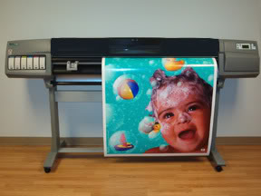 "HP DesignJet 5500PS 60"" Inkjet Printer - Includes 3 Year Warranty!"