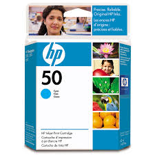 HP DesignJet 650C Inkjet Cartridge - Cyan
