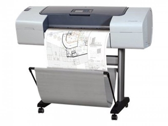 "NEW - HP DesignJet T1100PS 24"" Inkjet Printer - Includes 3 Year Warranty!"