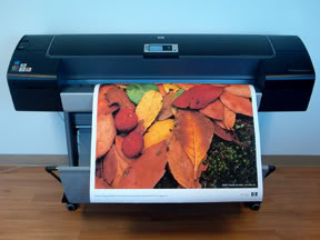 "HP DesignJet Z2100 44"" Inkjet Printer - Includes 3 Year Warranty!"