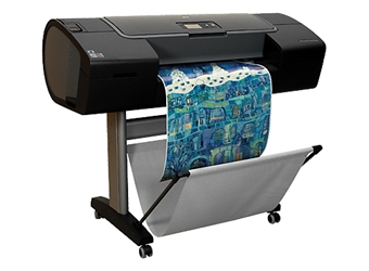 "HP DesignJet Z21000 24"" Color Inkjet Printer"