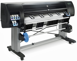 "HP DesignJet Z6600 60"" Color Inkjet Printer"