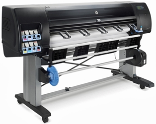 "HP DesignJet Z6800 60"" Color Inkjet Printer"